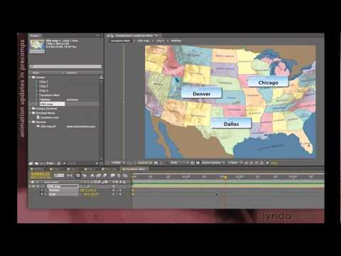 Using composition hierarchies in After Effects   lynda.com tutorial