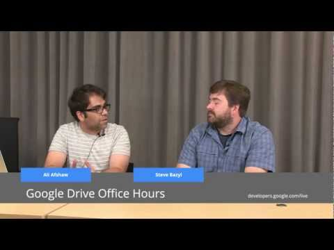 Google Drive Office Hours