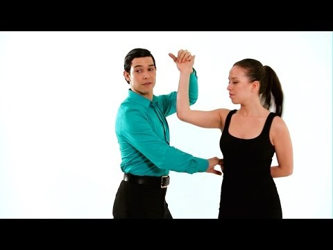 Merengue Dance Steps: Hammer Lock | How to Dance Merengue