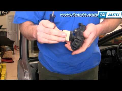 How to Install Replace Inside Front Door Handle Dodge Stratus 01-06 1AAuto.com