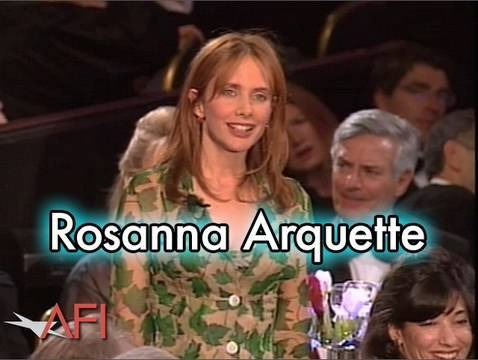 Rosanna Arquette Salutes Martin Scorsese at the AFI Life Achievement Award