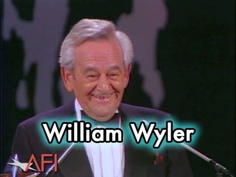 William Wyler Accepts the AFI Life Achievement Award in 1976