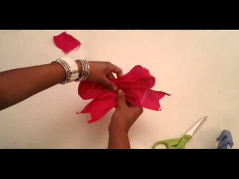 Glitter 'N Glue: How To Tie A Bow
