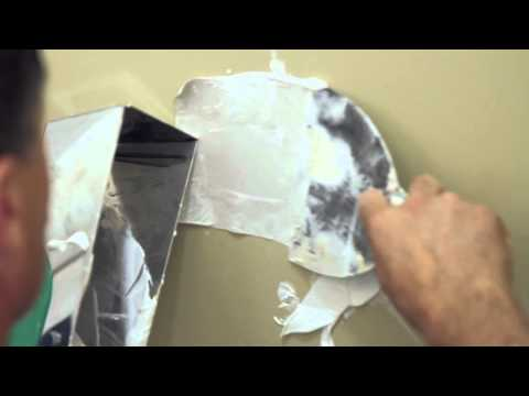 How to Repair Drywall or SHEETROCK - Tips and Tricks