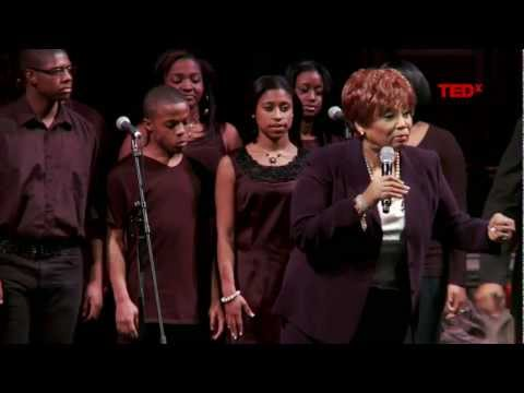 Performance: Vy Higgensen and the cast of Mamma I Want To Sing at TEDxHarlem