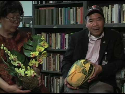 Nit and Vichai Malikul, Ann Martin: Thai fruit and vegetable soap carving
