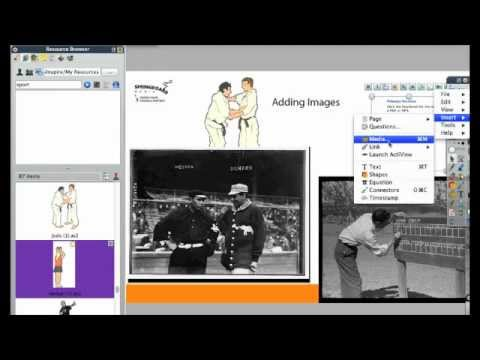ActivTips- Adding Images to your Promethean flipchart