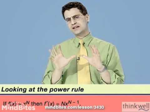 Calculus: A Quick Proof of the Power Rule