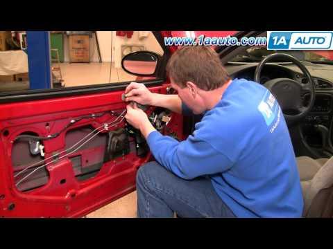 How to Install Replace Inside Door Handle Oldsmobile Alero 99-04 1AAuto.com