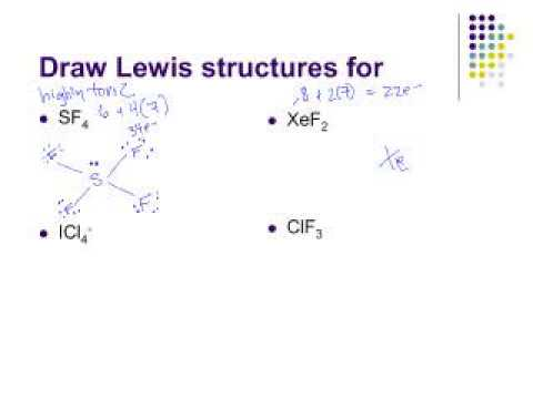 Lewis Structures, Part 3 of 3