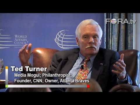 Ted Turner Fears 'Suicidal Destruction' from Nukes