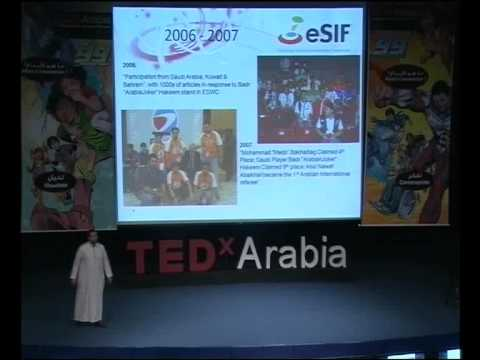 TEDxArabia talk - YASSER BAHJATT-  Saudi e-Sports Achievements