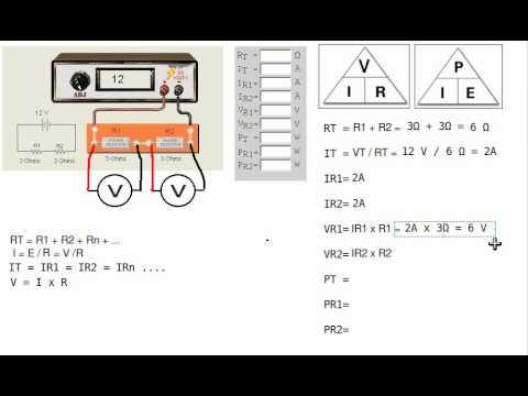 Series Circuit Analysis part 1