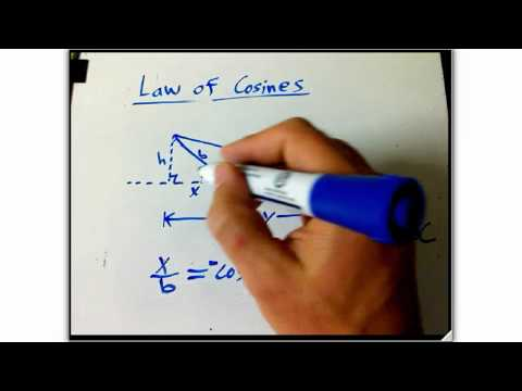 law of cosines recap part 2