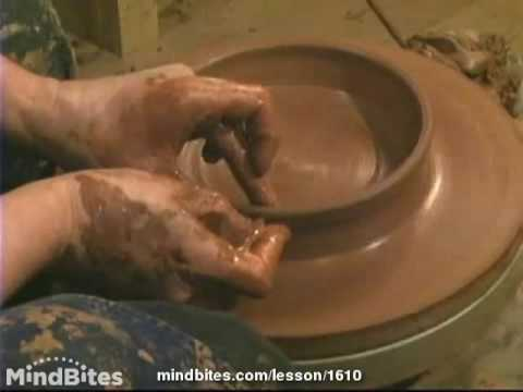 How to Make Pottery: Throwing a Plate by Hand