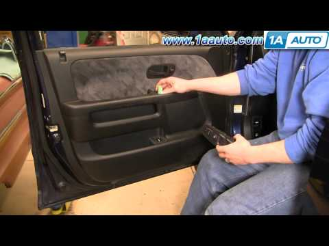 How To Install Replace Power Window Switch Honda CR-V 02-06 1AAuto.com