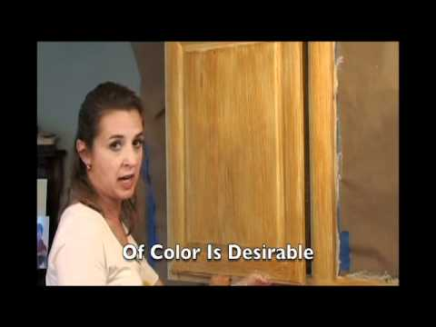 Faux EZ Wood Finish Demonstration - The Home Depot