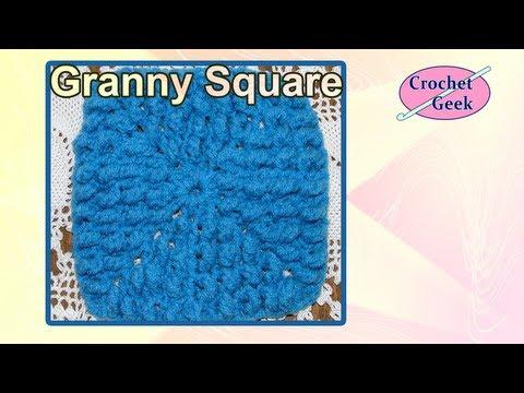Crochet Geek - Knobby Crochet Granny Square