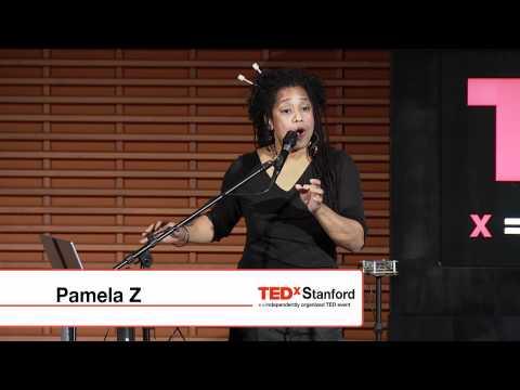 TEDxStanford - Pamela Z - Acoustic sound storm