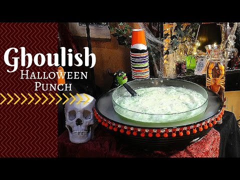 Halloween Punch for Kids-DIY