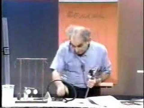 Julius Sumner Miller - Physics -  Bernoulli pt. 1