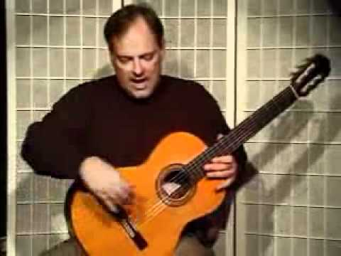 Guitar Lesson - How to Position The Guitar On Your Knee