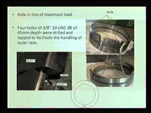 Mod-06 Lec-28 Rolling Element Bearings