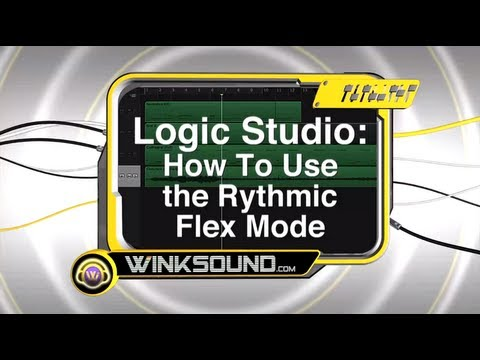 Logic Pro: How To Use the Rhythmic Flex Mode | WinkSound