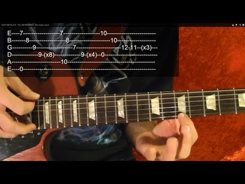 For Whom the Bell Tolls Guitar Lesson by METALLICA ( 3 of 3 )