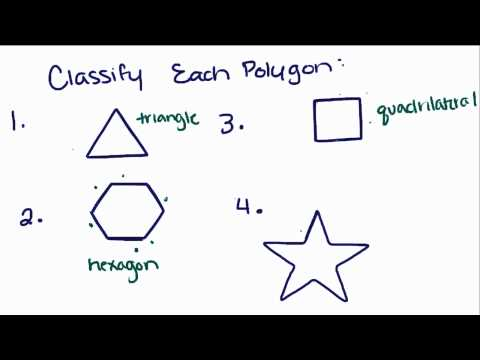 Introduction to Geometry - 29 - Classifying Polygons