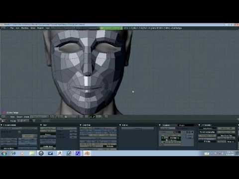Blender Tutorial - Head Retopo Part 3/10