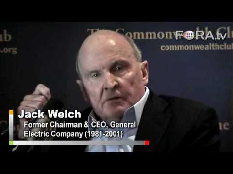 Jack Welch - US 'Cooked' If Deficits Continue to Mount