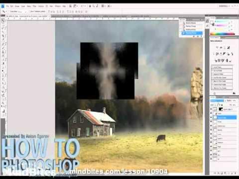 55. Photoshop: Proj- Adding smoke and finishing