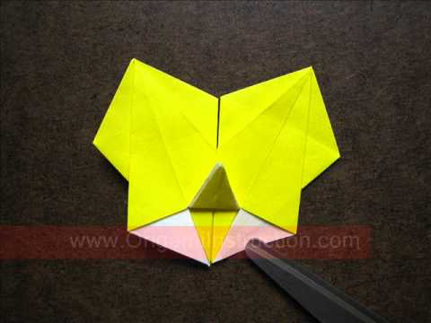 How to Fold Origami Modular Sunflower - OrigamiInstruction.com