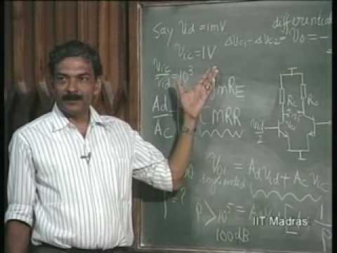 Lecture - 32 The Differential Amplifiers