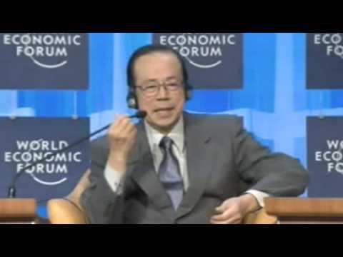 Davos Annual Meeting 2008 - Yasuo Fukuda, PM, Japan