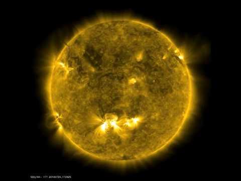 July 2010 Solar Activity
