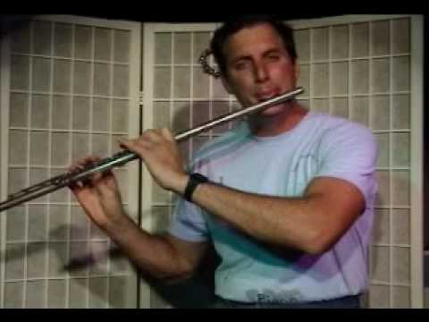 Flute Lesson: How to play a C Major scale up and down