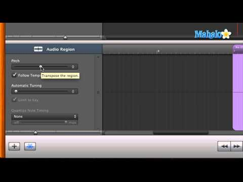 Learn GarageBand in 30 Days: Pitch Editing in Audio