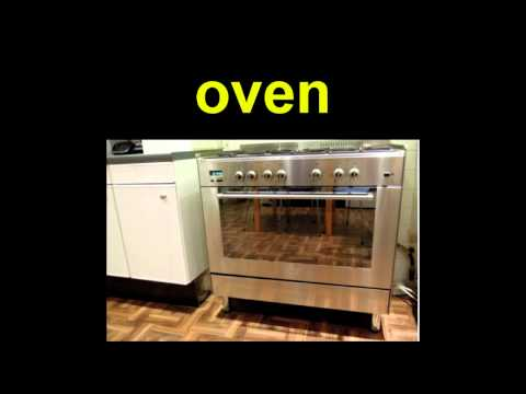 English Vocab  - Objects In The Kitchen