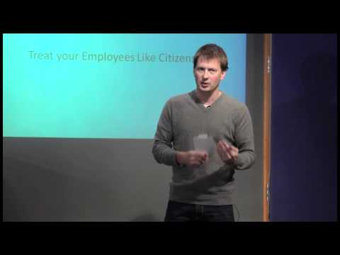 TEDxPortsmouth - Felix Wetzel - Treating your Employees like Citizens
