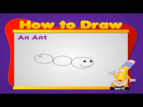 Learn to draw Animals  - Ant