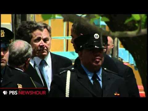 President Obama Lays Wreath at Ground Zero