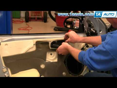 How To Install Replace Front Inside Door Handle Ford Focus 00-07 1AAuto.com