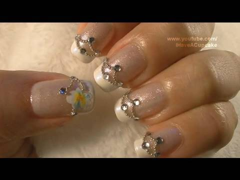 Wedding Nail Art Tutorial / Arte para las unas de boda