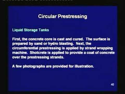 Lecture-40-Circular Prestressing,Conclusion