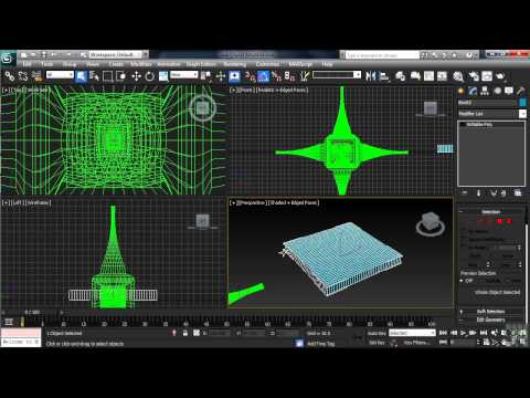 3DS Max 2013 Tutorial | Adding Modifiers to Objects in 3DS Max | InfiniteSkills