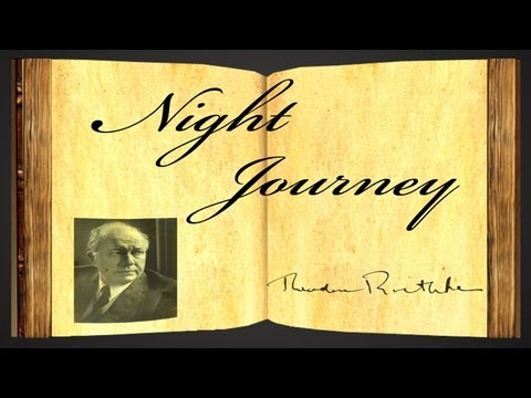 Pearls Of Wisdom - Night Journey by Theodore Roethke - Poetry Reading