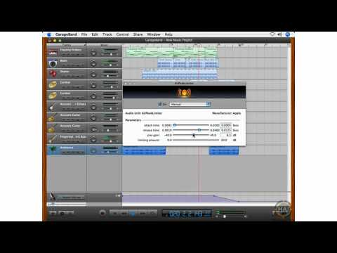 Introduction to GarageBand - Recording a Music Project - Mastering Sharing