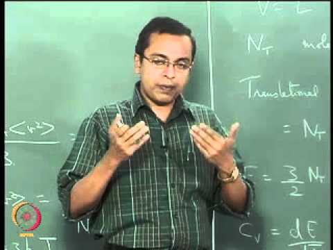 Mod-01 Lec-06 The Ideal Gas